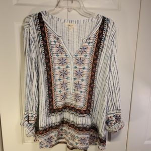 Style & Co Tunic Top Size 2X